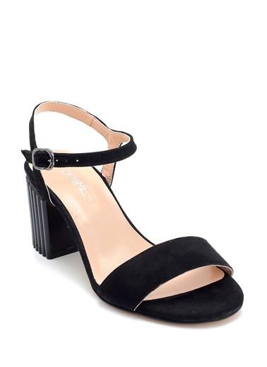 Derimod Kadın Sandalet (29701) Klasik Siyah